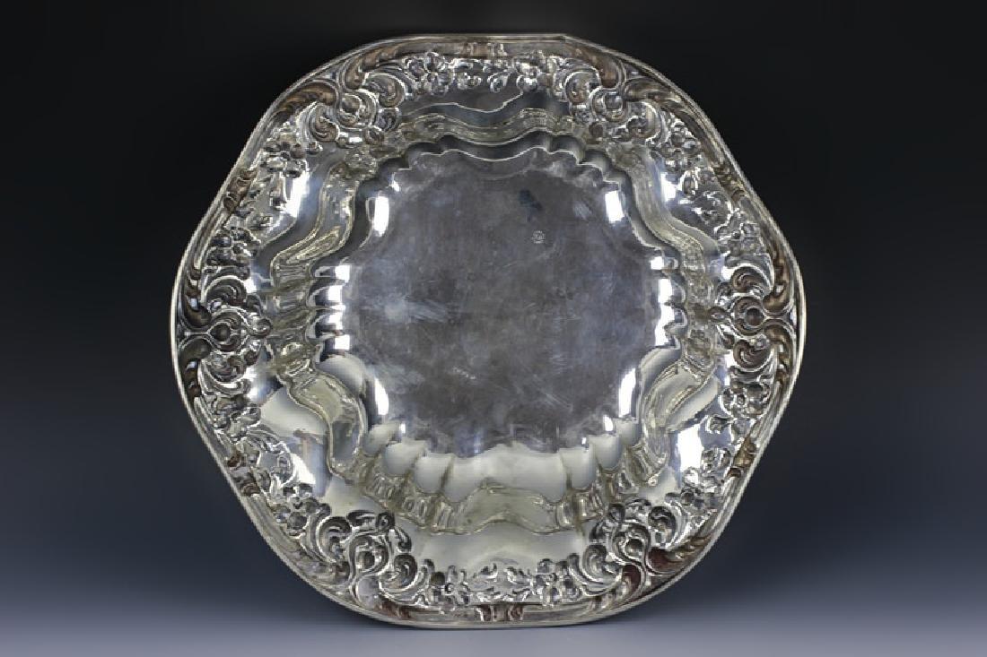 Sterling Silver Art Nouveau Bowl - 2
