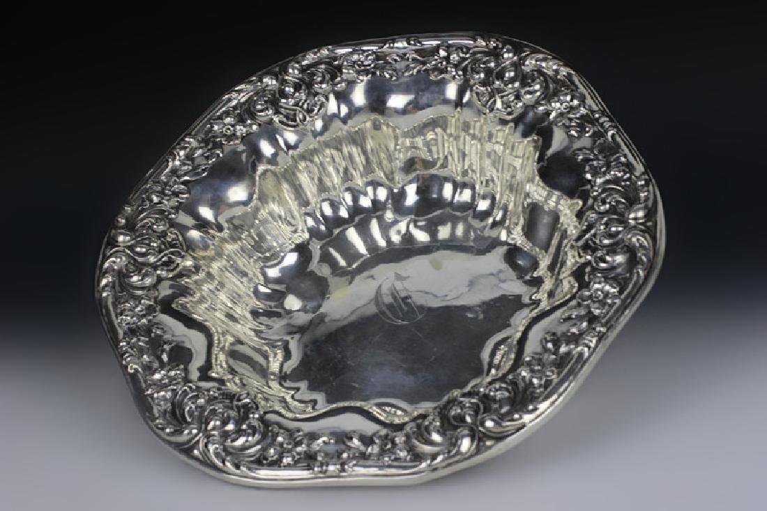 Sterling Silver Art Nouveau Bowl - 3