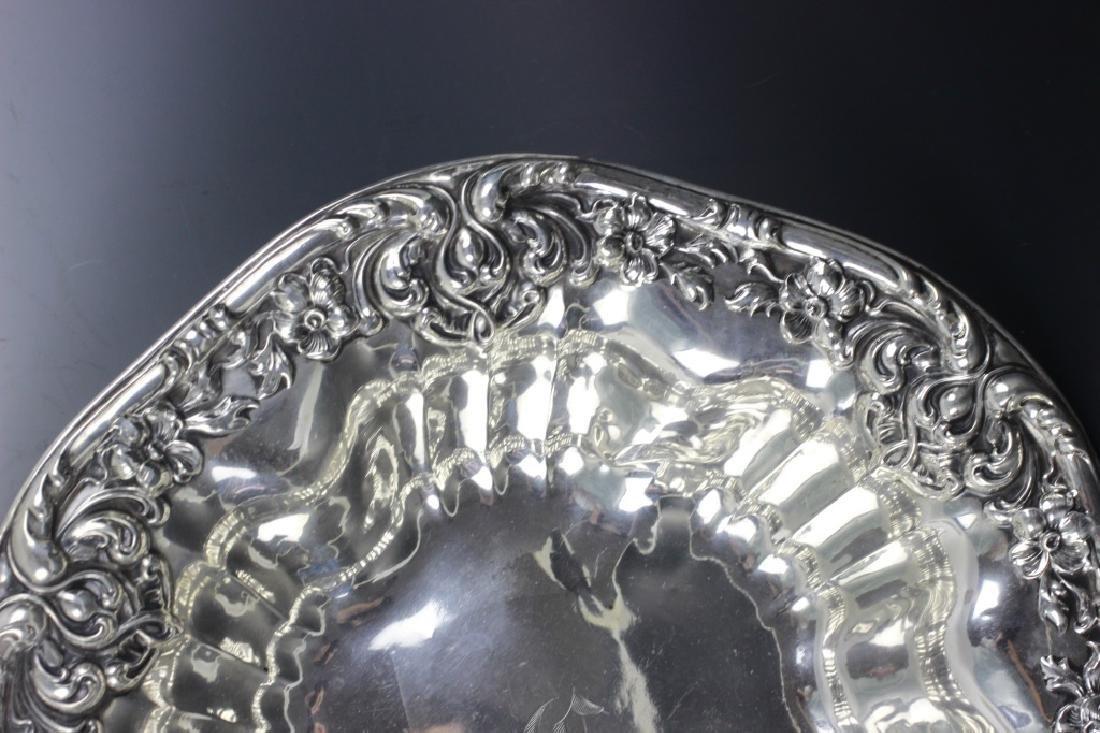 Sterling Silver Art Nouveau Bowl - 6