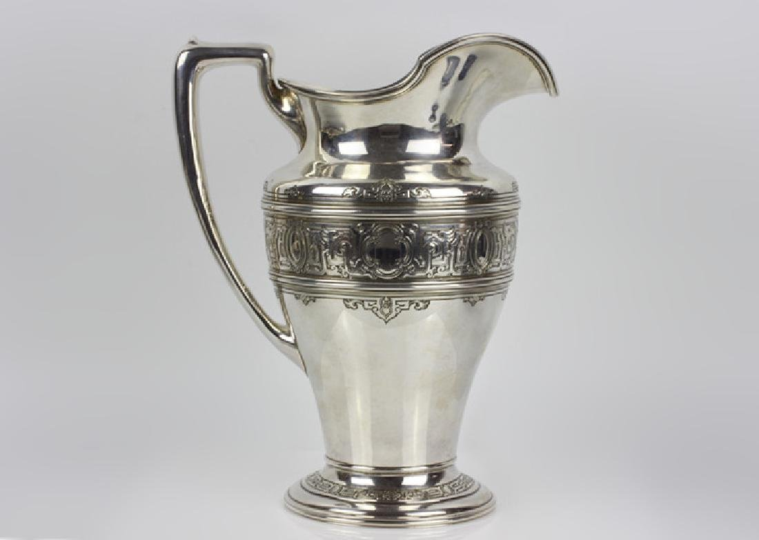 Large Sterling Silver Pitcher by Lebkuecher & Co.