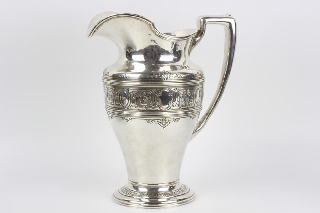 Large Sterling Silver Pitcher by Lebkuecher & Co. - 2