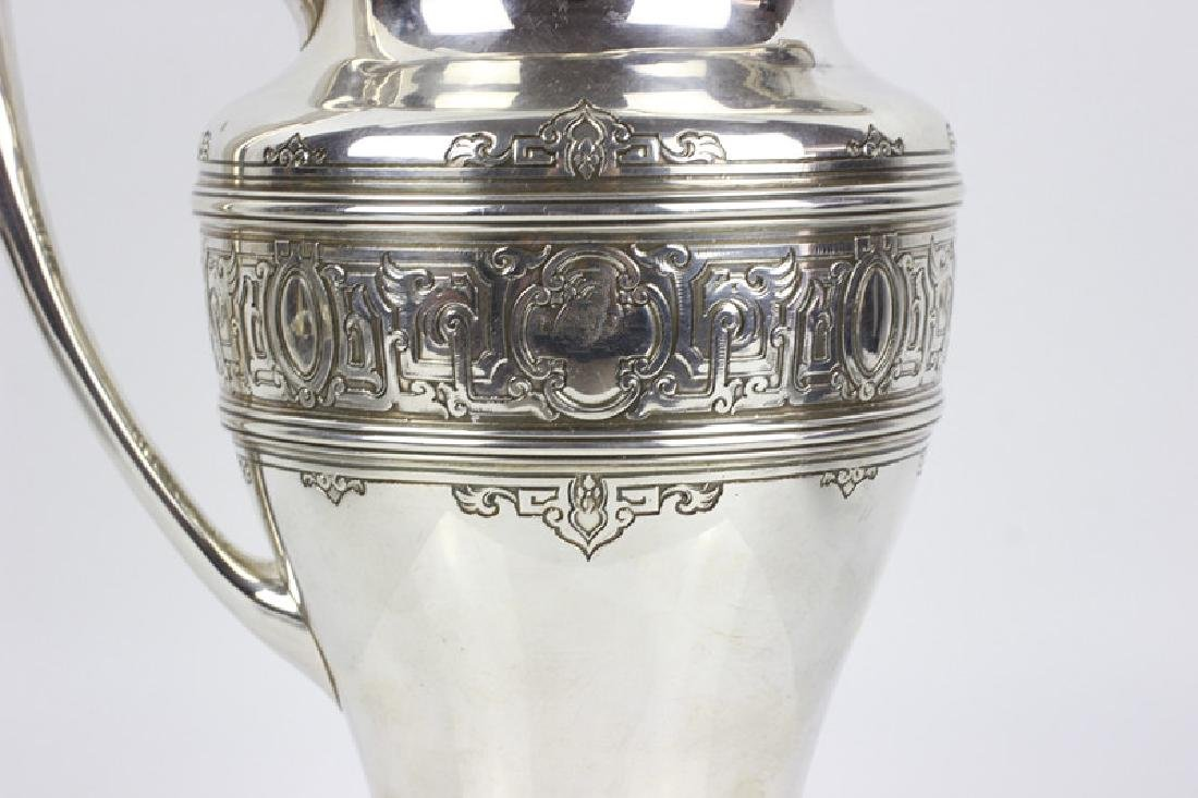 Large Sterling Silver Pitcher by Lebkuecher & Co. - 3