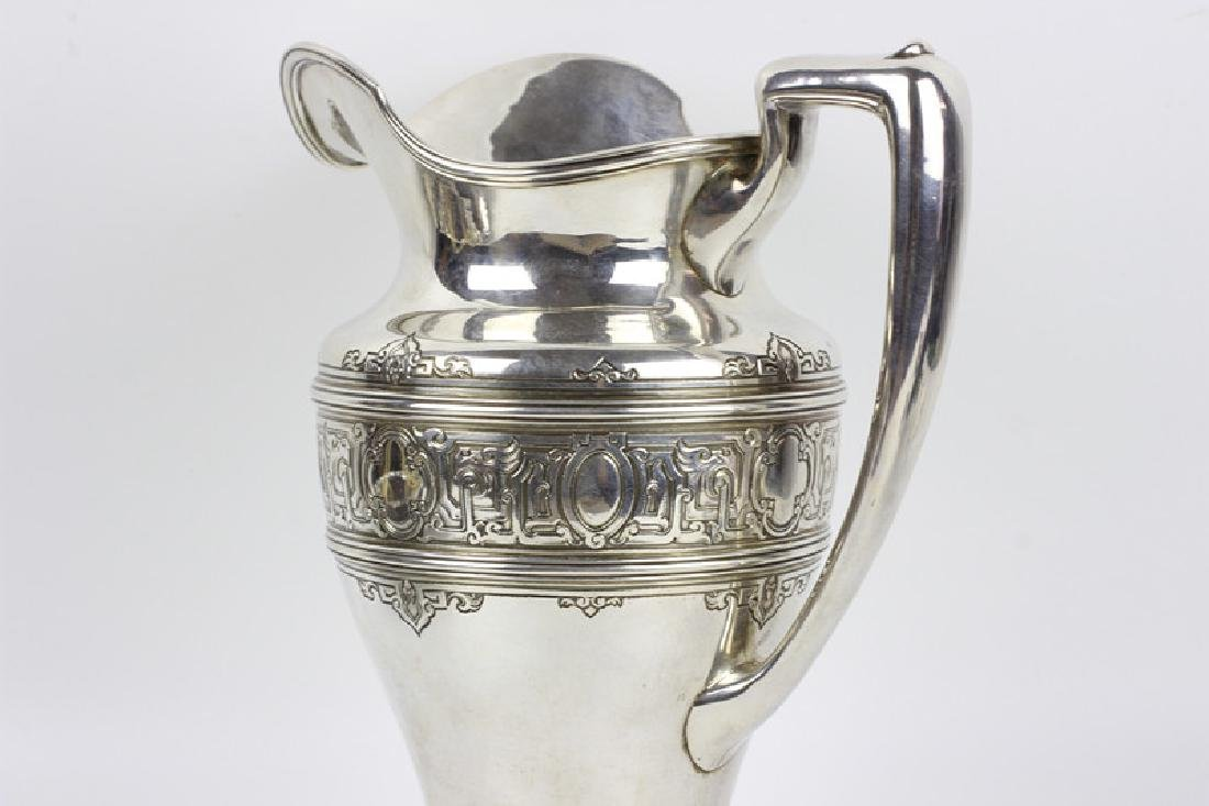 Large Sterling Silver Pitcher by Lebkuecher & Co. - 7