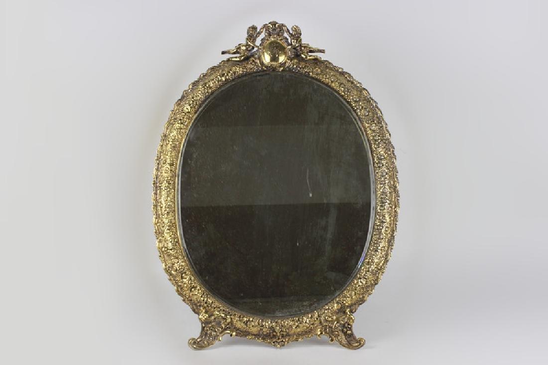 Rare Tiffany Silver Mirror, Circa 1880
