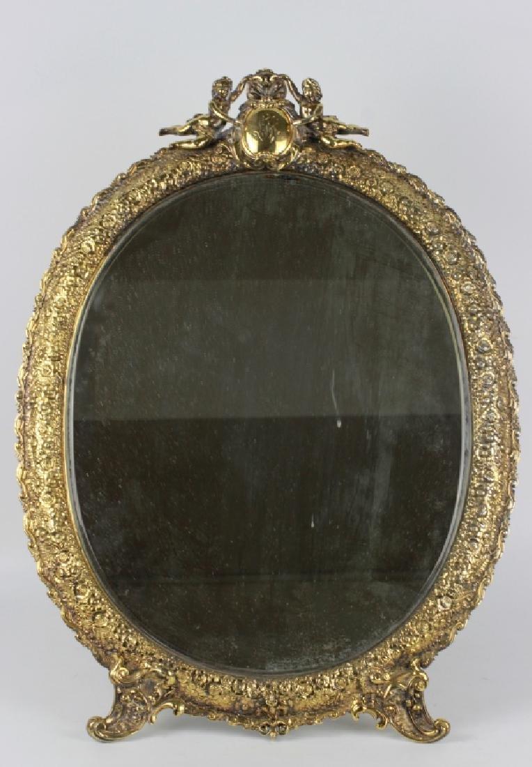Rare Tiffany Silver Mirror, Circa 1880 - 2