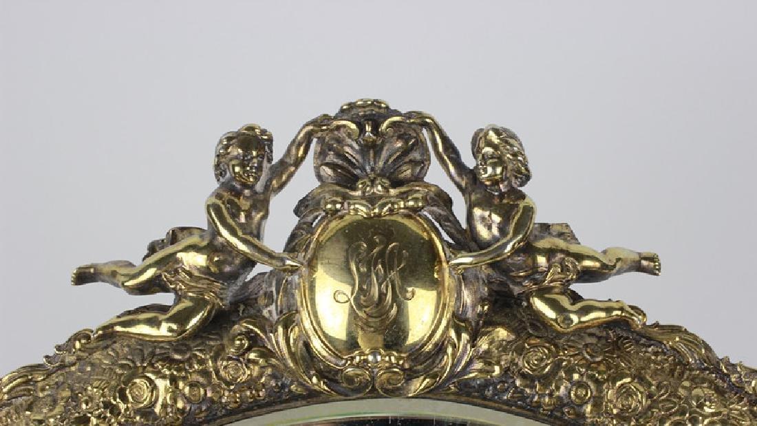 Rare Tiffany Silver Mirror, Circa 1880 - 3