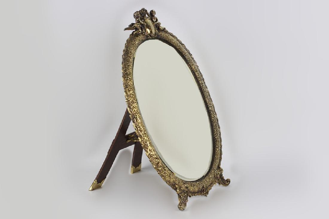 Rare Tiffany Silver Mirror, Circa 1880 - 4