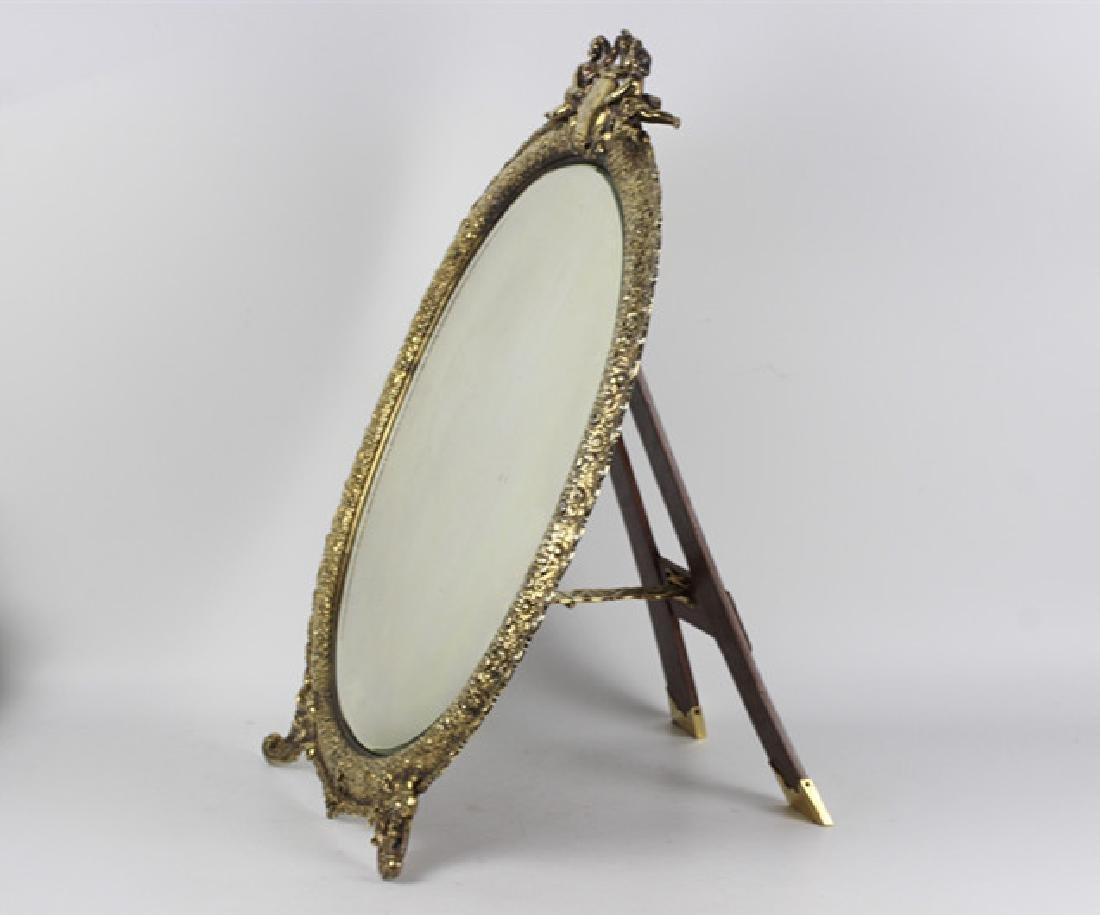 Rare Tiffany Silver Mirror, Circa 1880 - 5