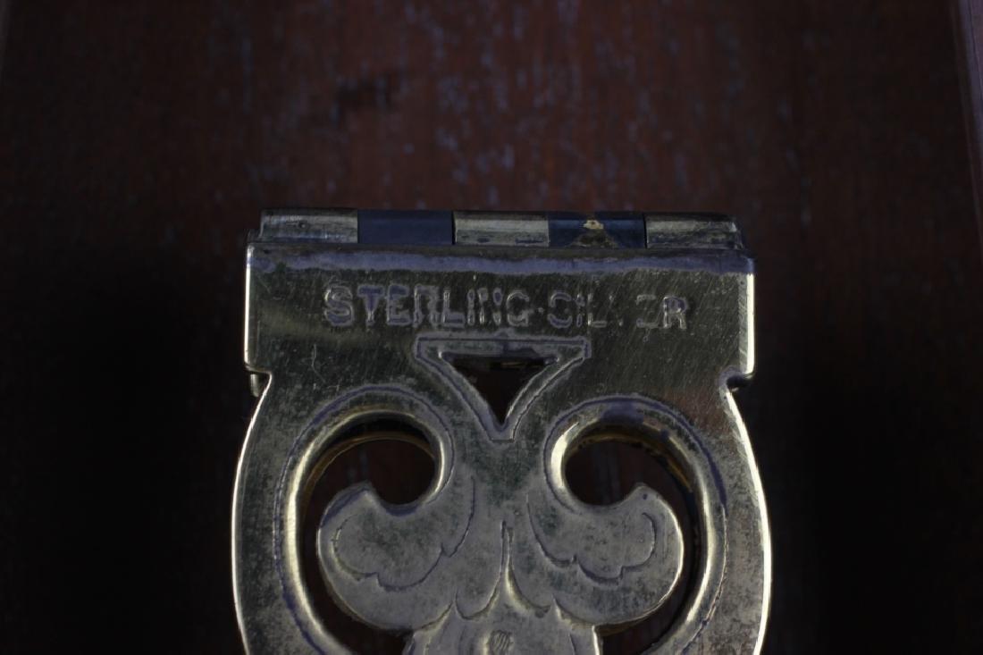 Rare Tiffany Silver Mirror, Circa 1880 - 9