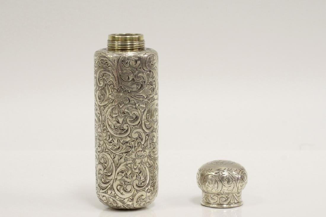 Pair of Tiffany & Co. Makers Sterling Bottles - 3