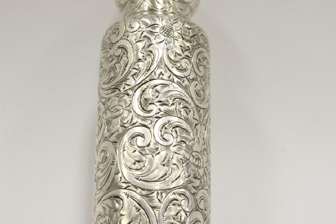 Pair of Tiffany & Co. Makers Sterling Bottles - 7
