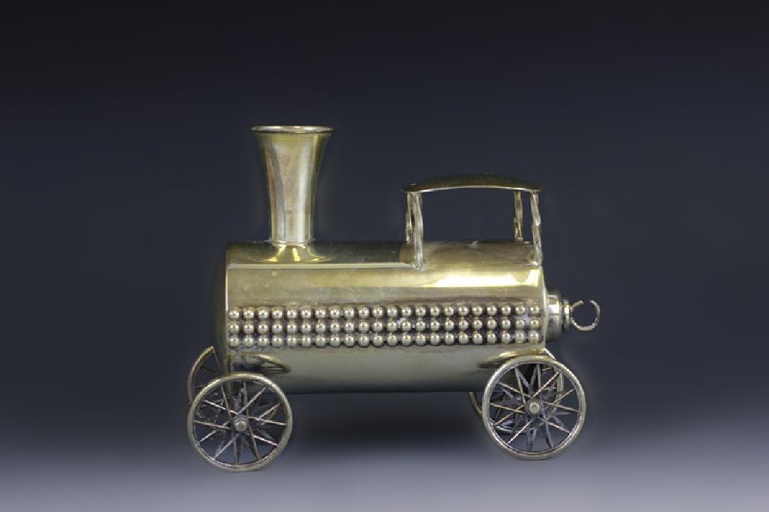 Judaica Sterling Silver Train Set - 8