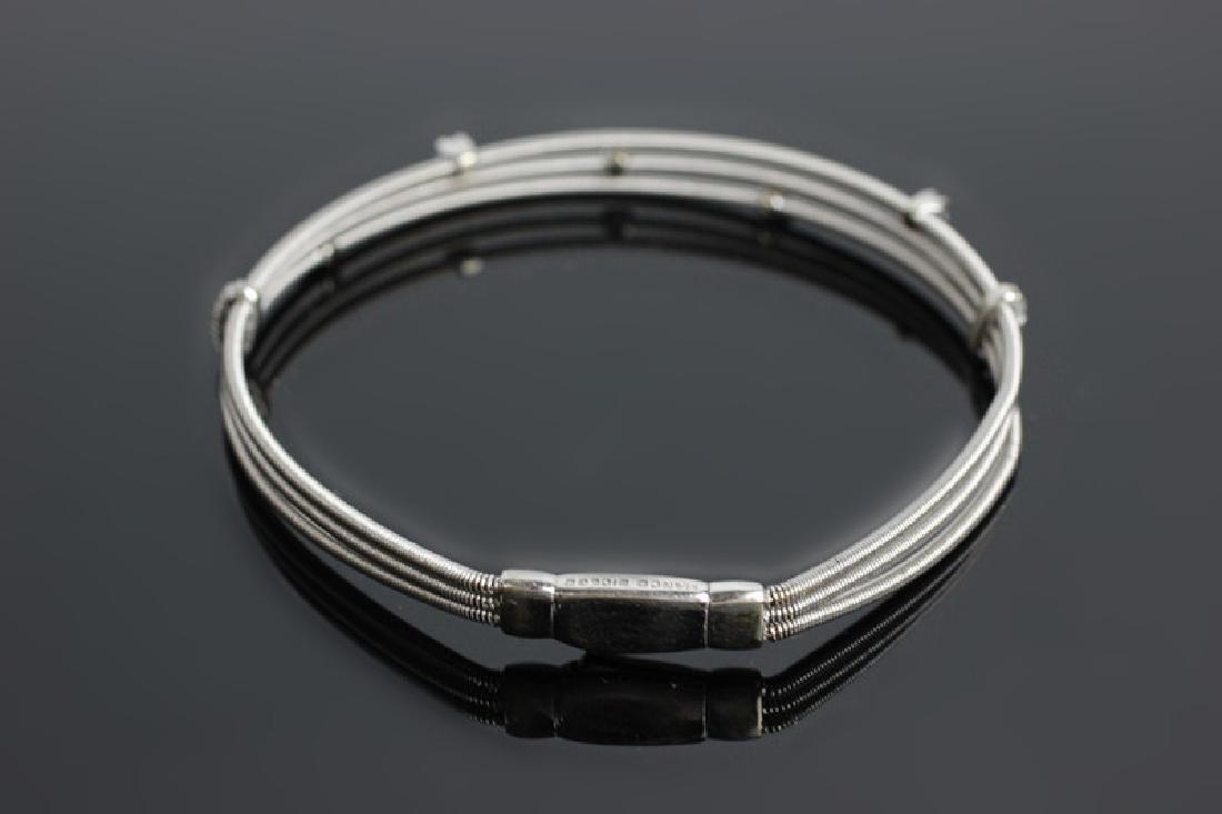 18k White Gold & Diamond Marco Bicego Bracelet