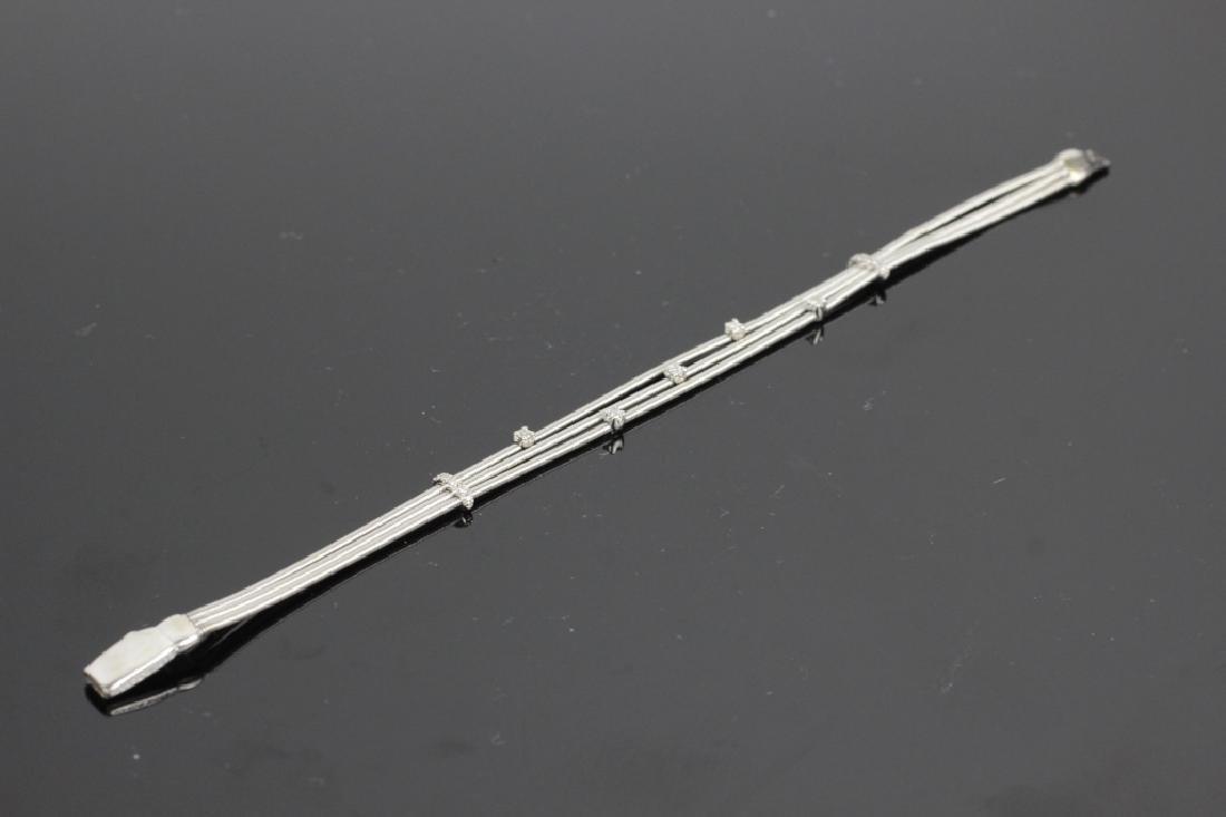 18k White Gold & Diamond Marco Bicego Bracelet - 4