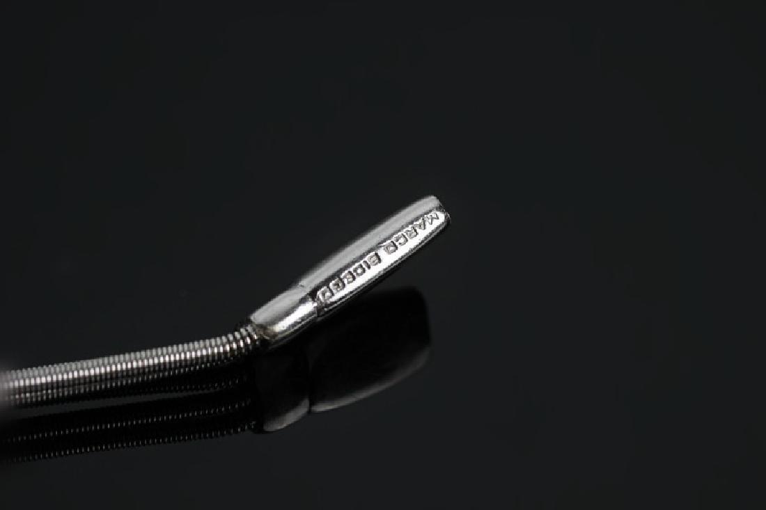 18k White Gold & Diamond Marco Bicego Bracelet - 5