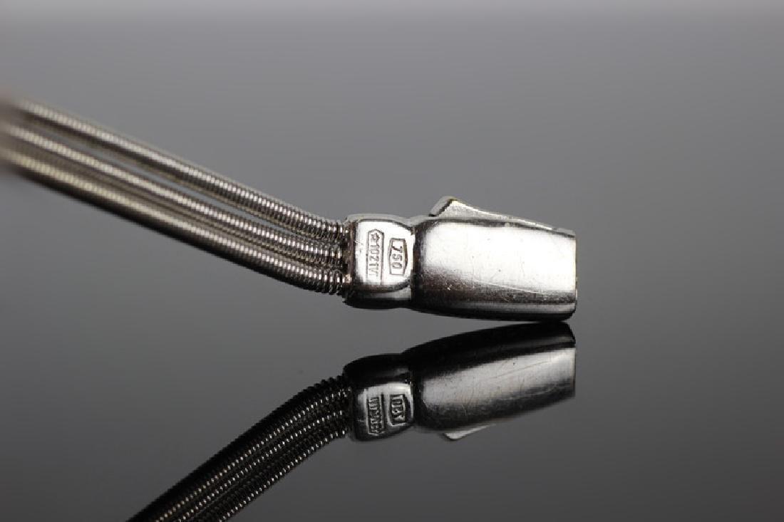 18k White Gold & Diamond Marco Bicego Bracelet - 6