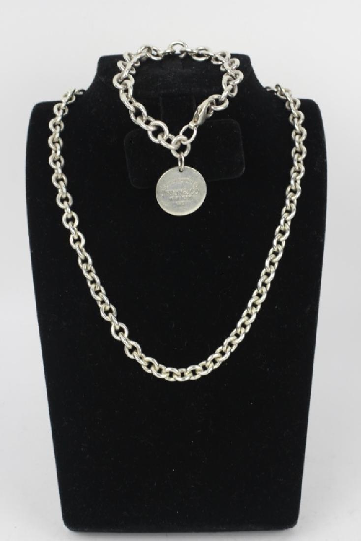 Tiffany & Co. Sterling Silver Necklace & Bracelet