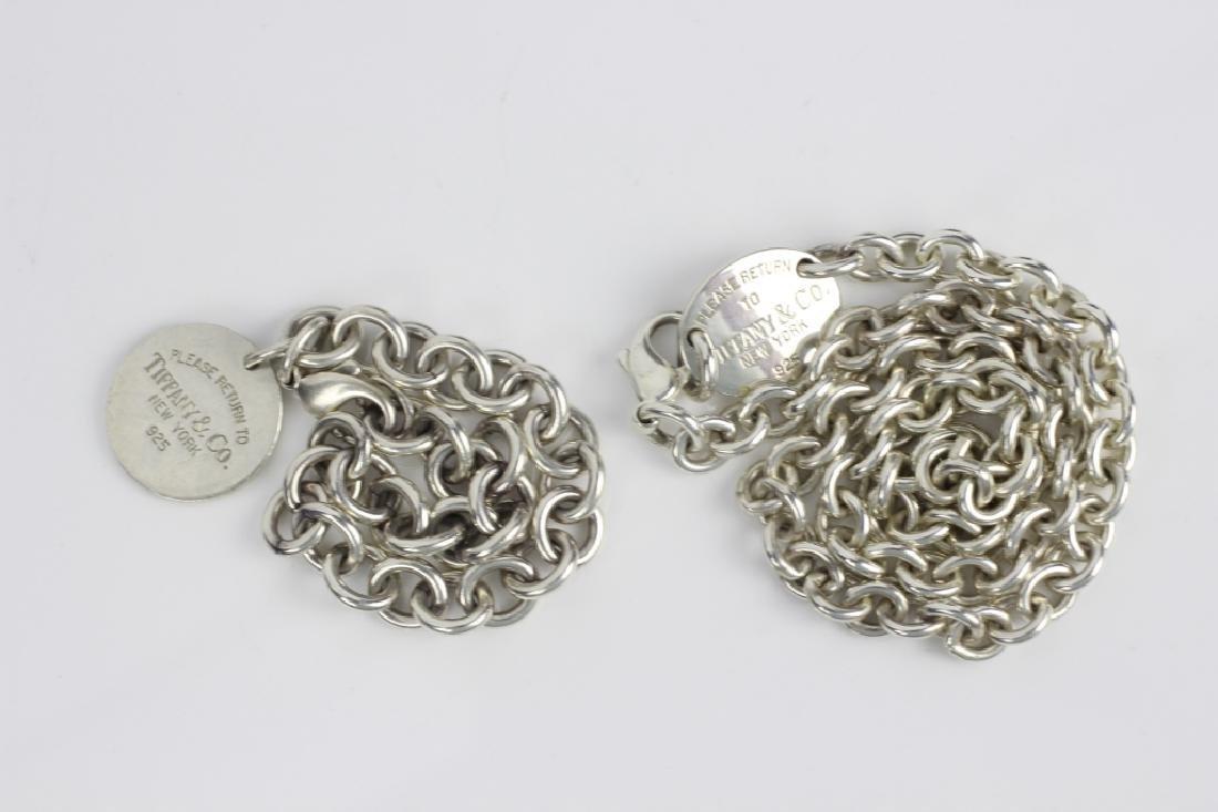 Tiffany & Co. Sterling Silver Necklace & Bracelet - 5