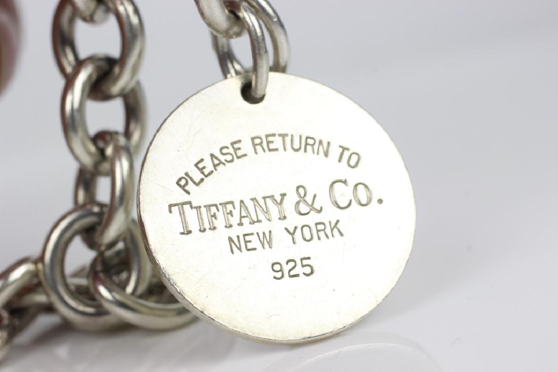 Tiffany & Co. Sterling Silver Necklace & Bracelet - 6