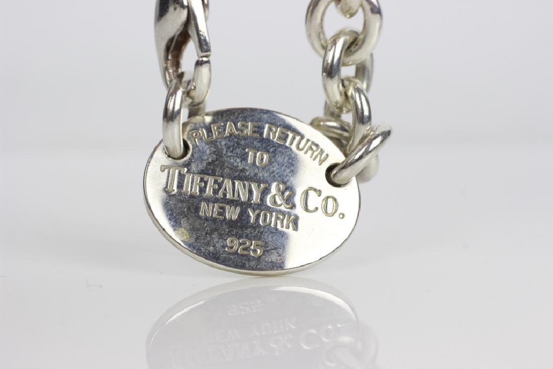 Tiffany & Co. Sterling Silver Necklace & Bracelet - 7