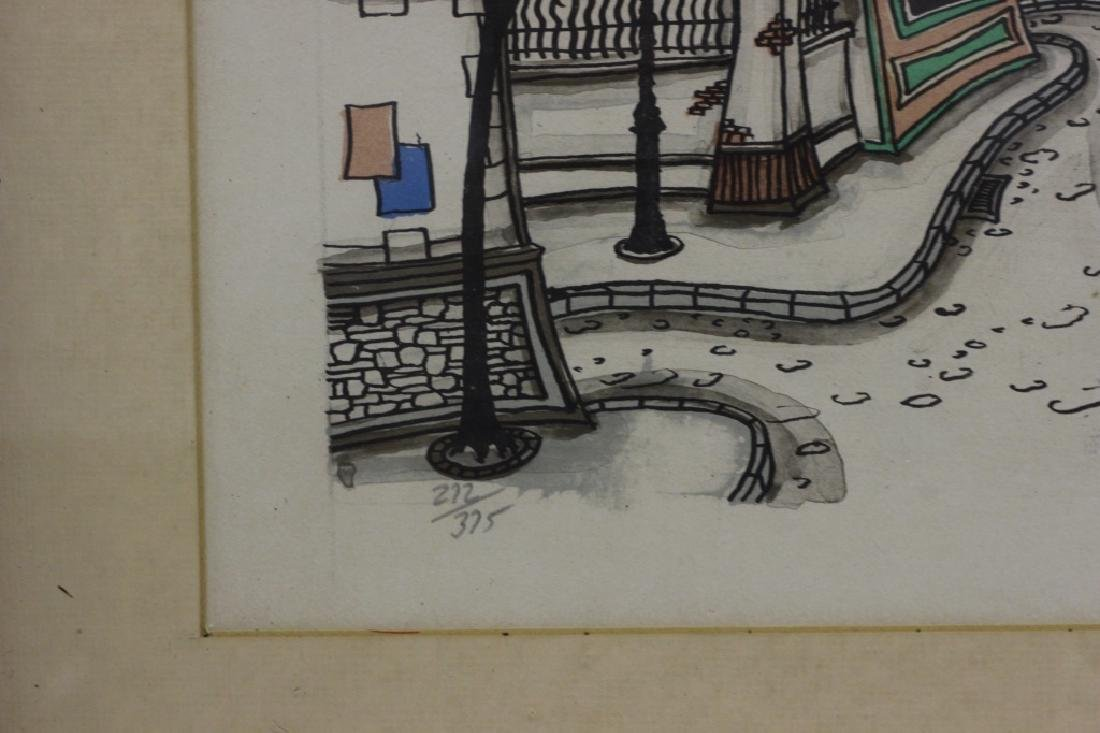 3 Lithographs, Signed Jacquest - 10