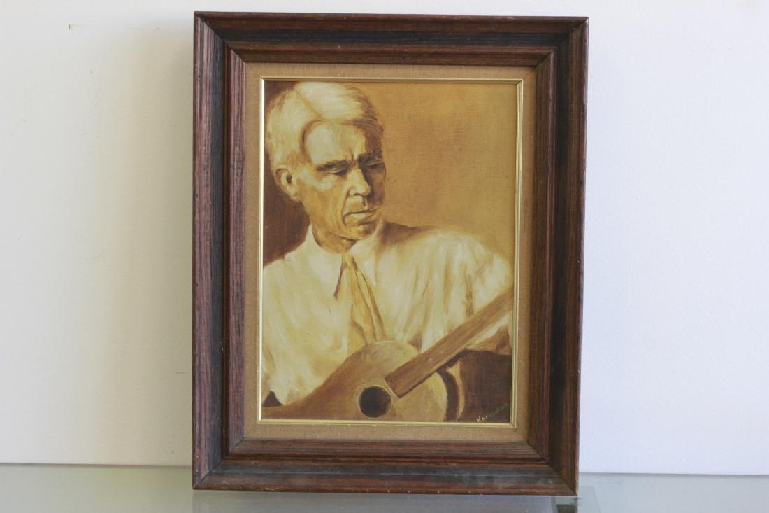 O/C Harry Shoulberg, NY (1903-1995) & 3 other O/C - 4