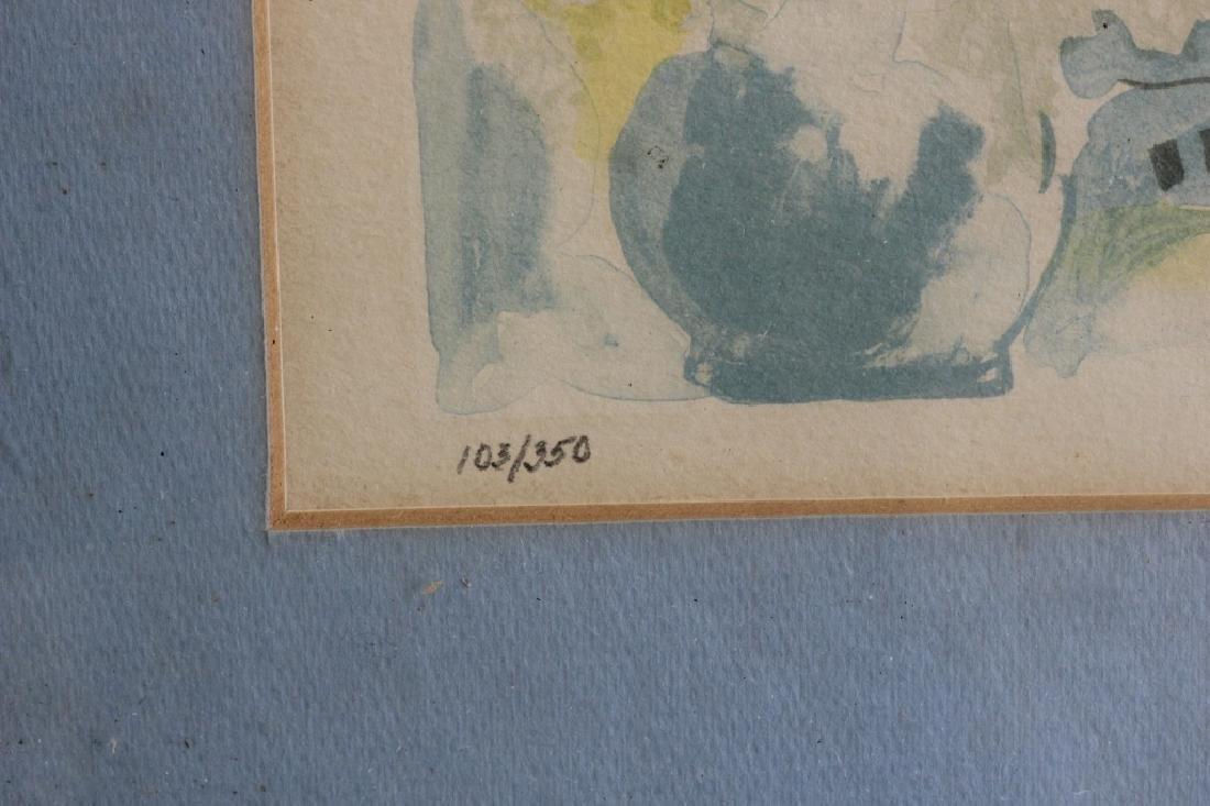 3 Judaica Lithographs, Including Moshe Gat - 15