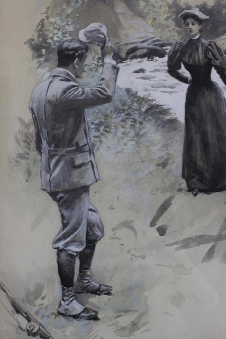 William T. Smedley, (American 1858-1920), Intro - 2