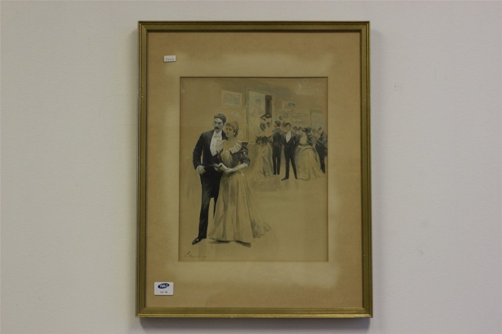 William T. Smedley, (1858-1920) Dated 1894, Formal