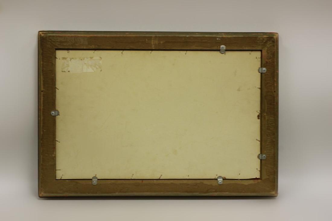 19thc O/B Man w/ Dog. Attributed to Gustav Courbet - 9