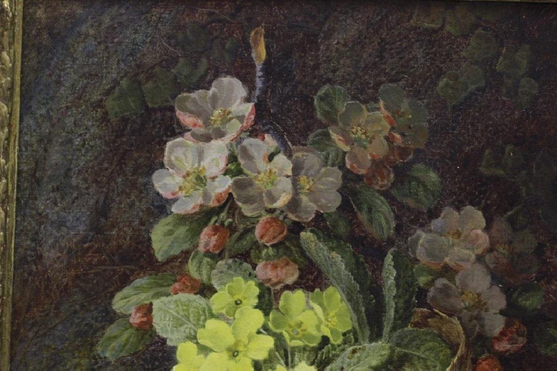Vincent Clare, English (1855-1930) O/C Flowers - 5