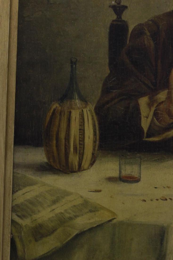 Oil on Board, Signed G. Albin, Man & Woman - 6
