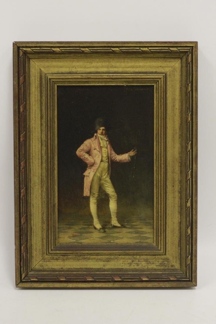 Ignaz Guagengigl (1853-1932) O/B, Small Napoleon - 2
