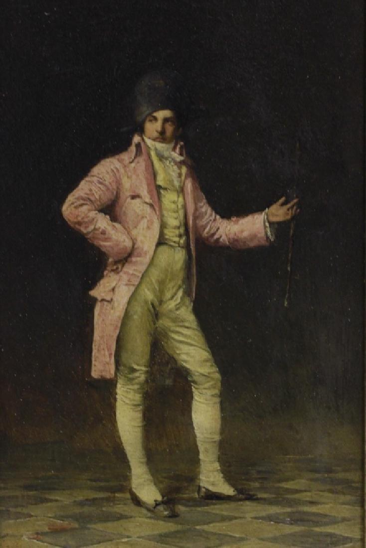 Ignaz Guagengigl (1853-1932) O/B, Small Napoleon - 3