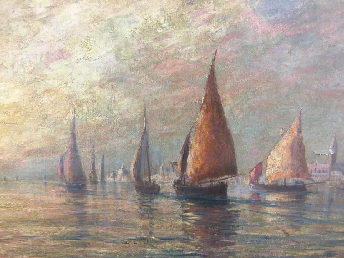 Addision Thomas Miller (1860-1913) O/C - 5