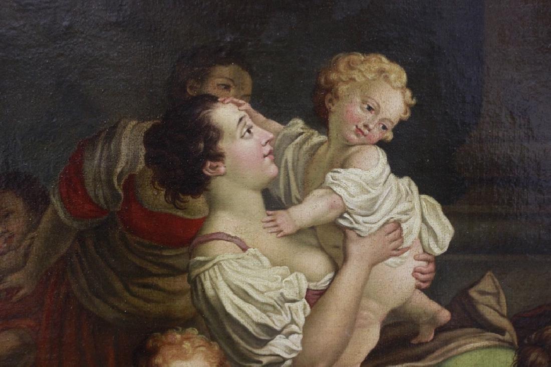 Attrib Jean Baptiste Greuz French (1725-1805) O/C - 2