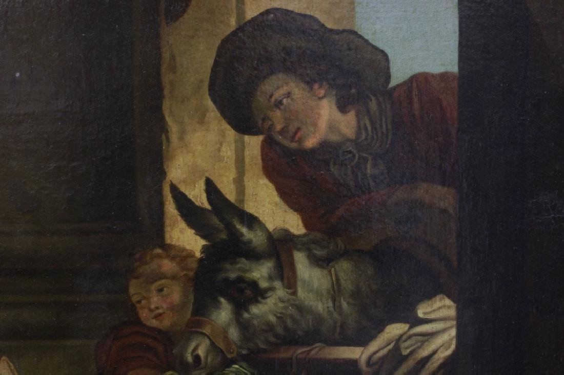 Attrib Jean Baptiste Greuz French (1725-1805) O/C - 3