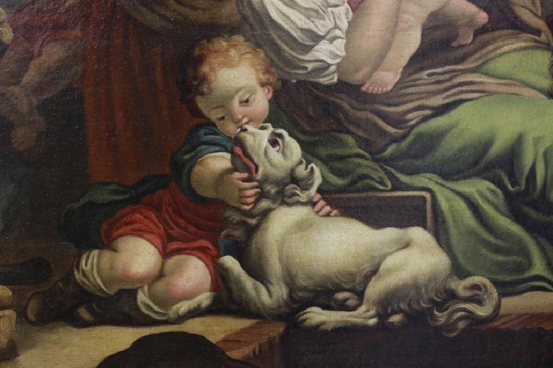 Attrib Jean Baptiste Greuz French (1725-1805) O/C - 5