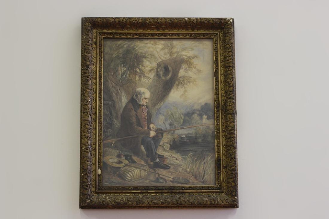 JM Jopling (1831-1884, Scottish) Watercolor - 10