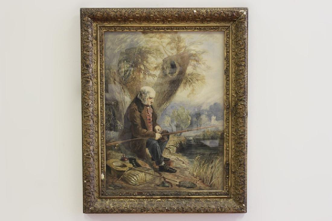 JM Jopling (1831-1884, Scottish) Watercolor