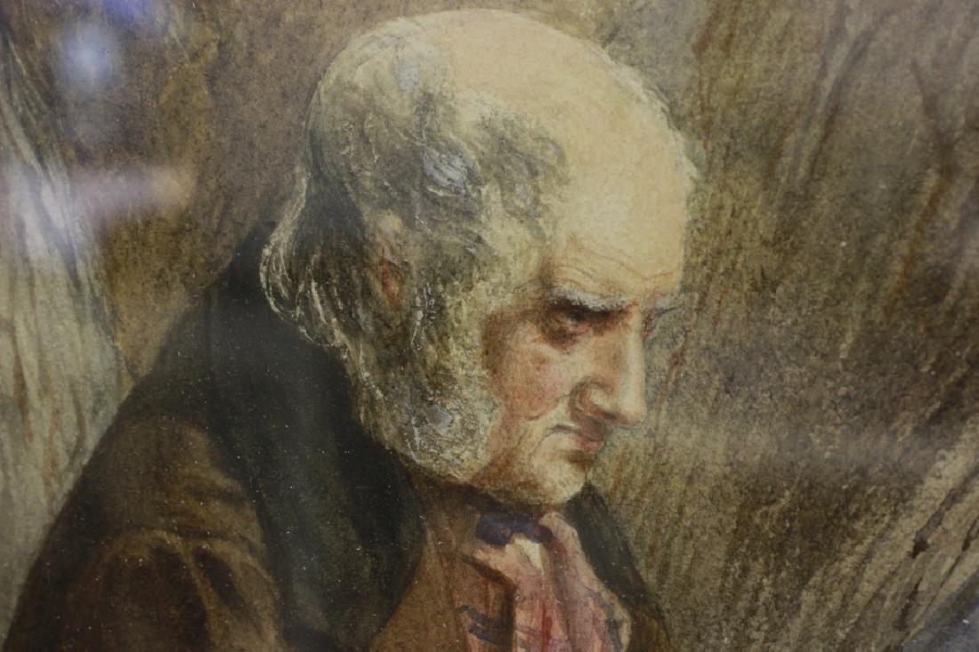 JM Jopling (1831-1884, Scottish) Watercolor - 2