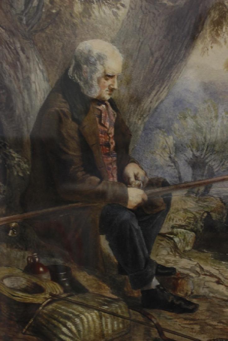 JM Jopling (1831-1884, Scottish) Watercolor - 3