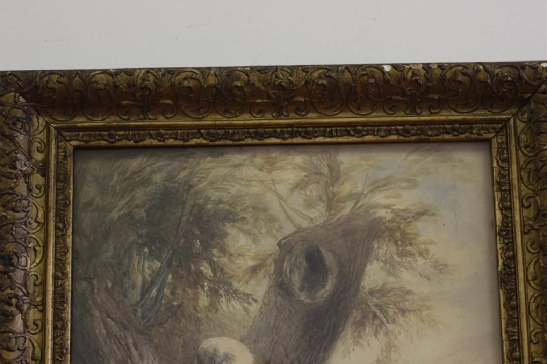 JM Jopling (1831-1884, Scottish) Watercolor - 4