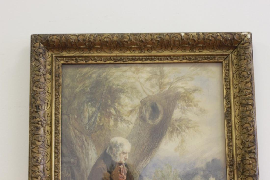JM Jopling (1831-1884, Scottish) Watercolor - 6