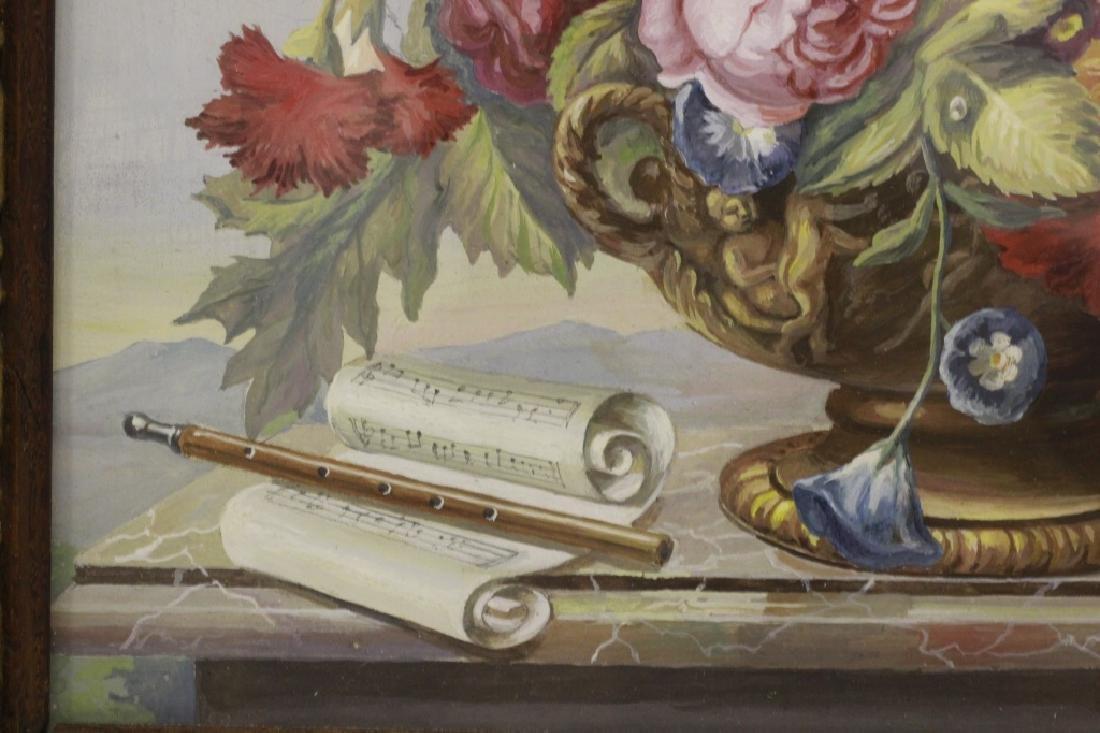 J.F. Jungling, German, Watercolor, Dated 1908 - 7