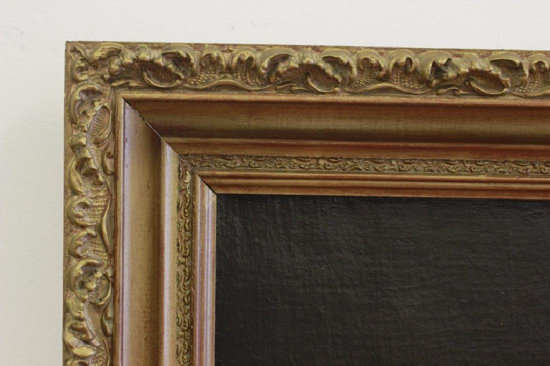 Late19thc Large O/C Portrait of Woman - 9