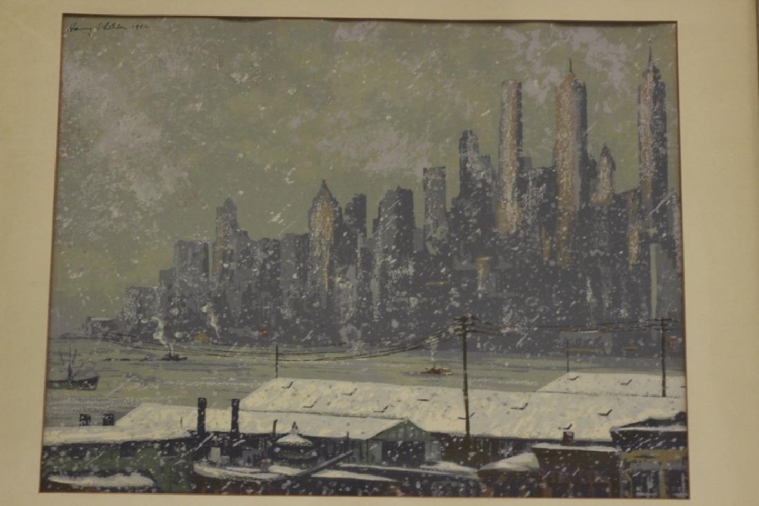Harry Shokler (1896-1978) Watercolor & Gauche - 2