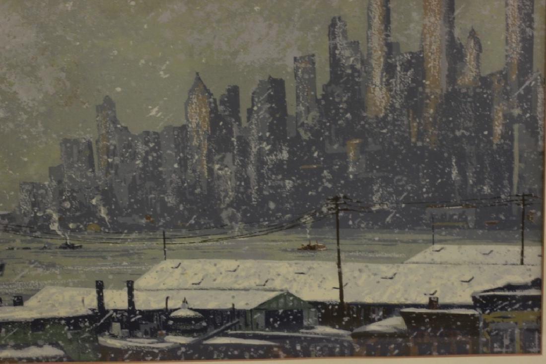 Harry Shokler (1896-1978) Watercolor & Gauche - 4