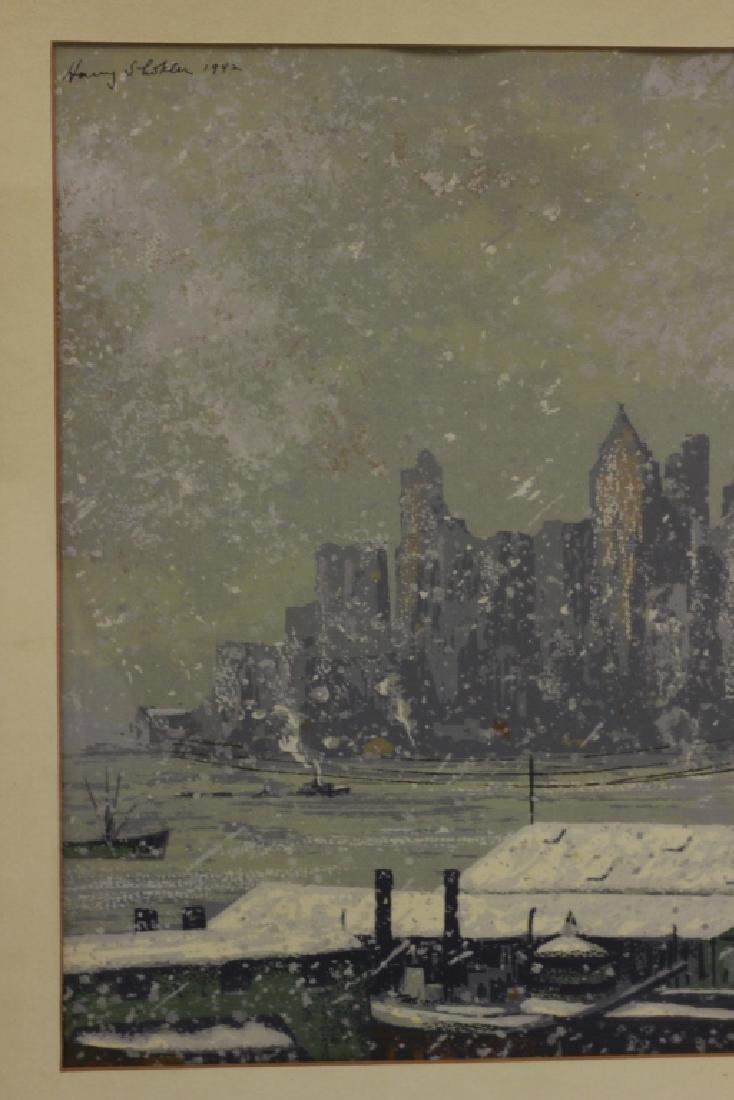 Harry Shokler (1896-1978) Watercolor & Gauche - 5