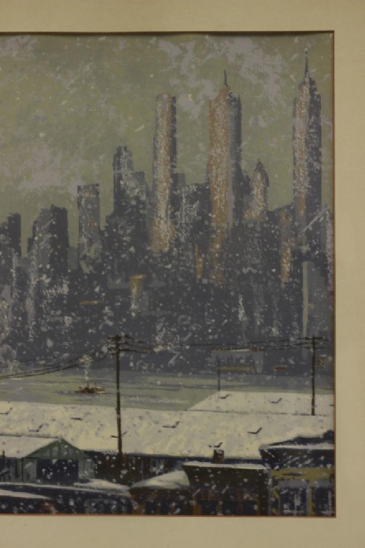 Harry Shokler (1896-1978) Watercolor & Gauche - 6